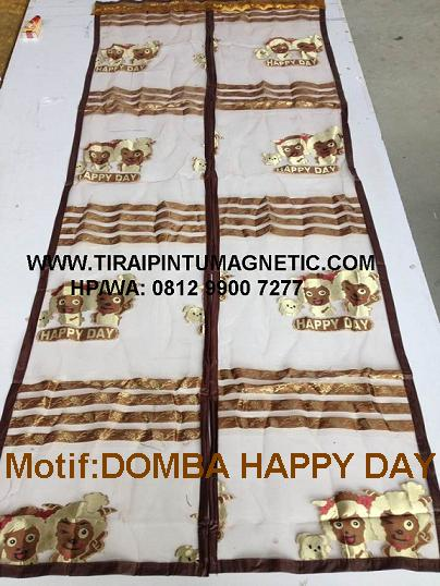 Size: 95x210 Warna: Coklat Motif : Domba Happy Day