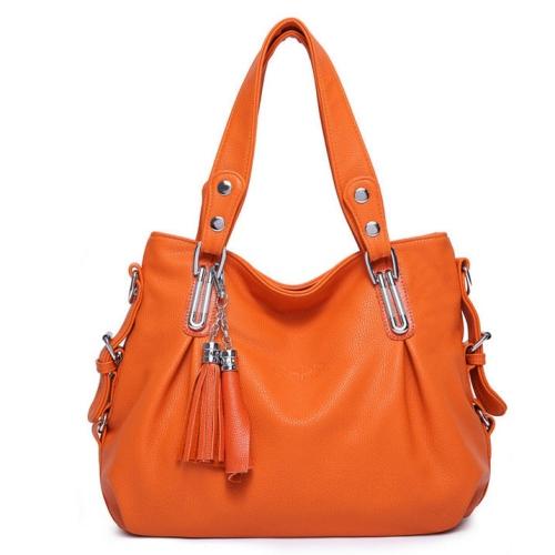 Code: TS4042 Orange Size: 33x30x12cm Bahan: Kulit Asli (Genuine Leather) + High Quality PU Harga : Rp 425.000