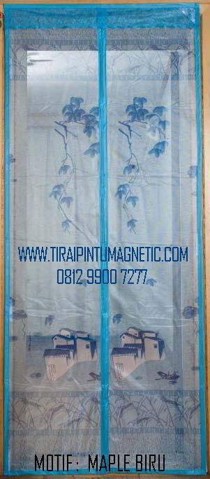 Size    :   95x210 Motif  :   Maple Warna:  Biru