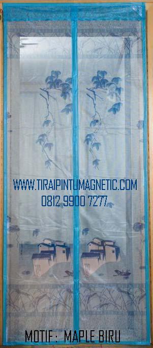 Size    :   95x210 Motif  :   Maple Warna:  Biru